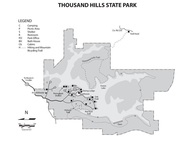 Thousand Hills State Park