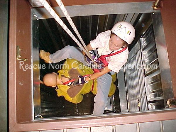 South Piedmont CC; Rescue Technician; Rope Rescue