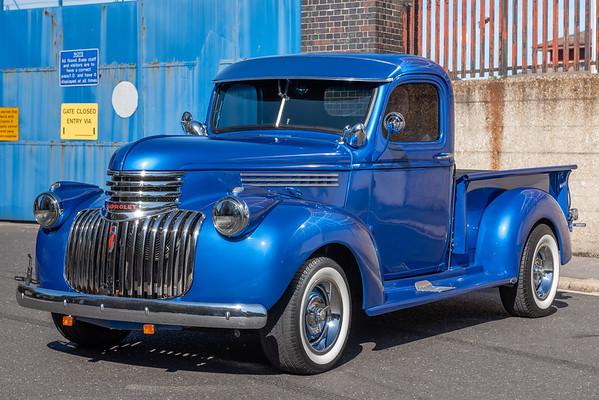 Ford F47 Blue