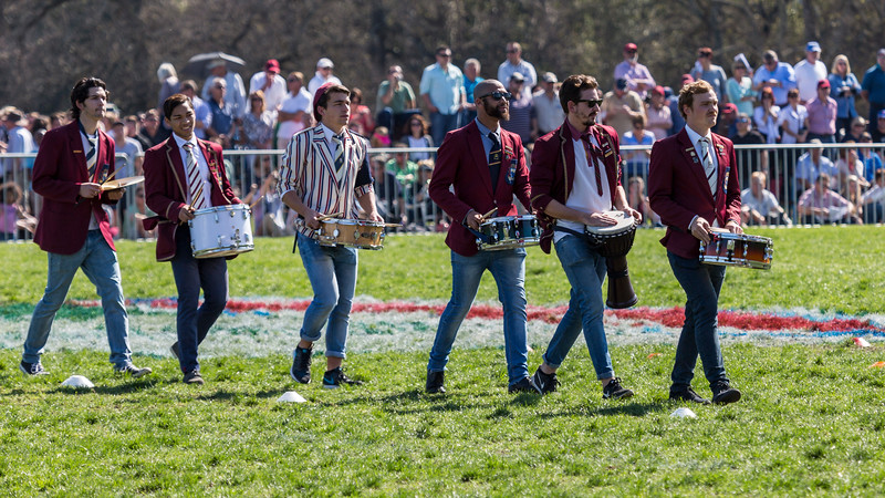 Supporters and Drumline