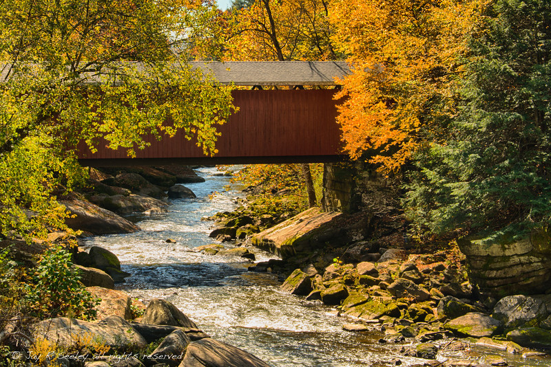 Covered bridge at McConnells Mill