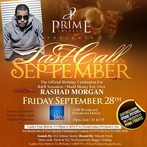 Bleu 9-28-12 Friday