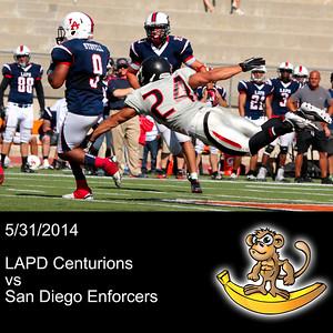 2014-05-31 LAPD Centurions VS San Diego Enforcers