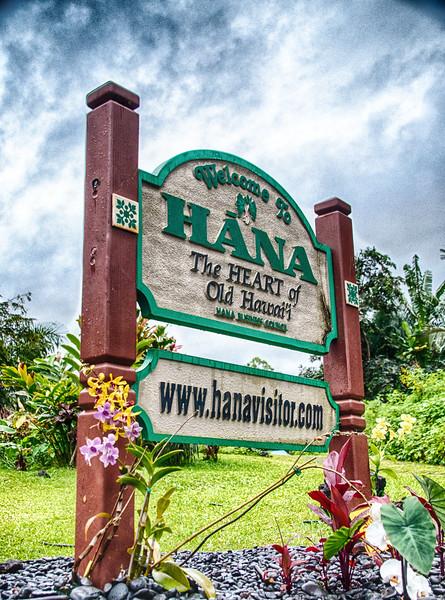Finally on the road to Hana.  I am so glad I went. I am so glad I wasn't driving.