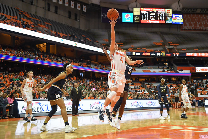Tiana Mangakahia scores the final points of the game