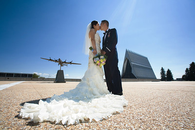 Wedding album: Grace and Johan at the Air Force Academy