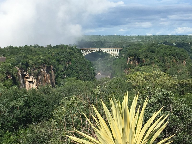 View of the bridge at Victoria Falls - Rob Williamson