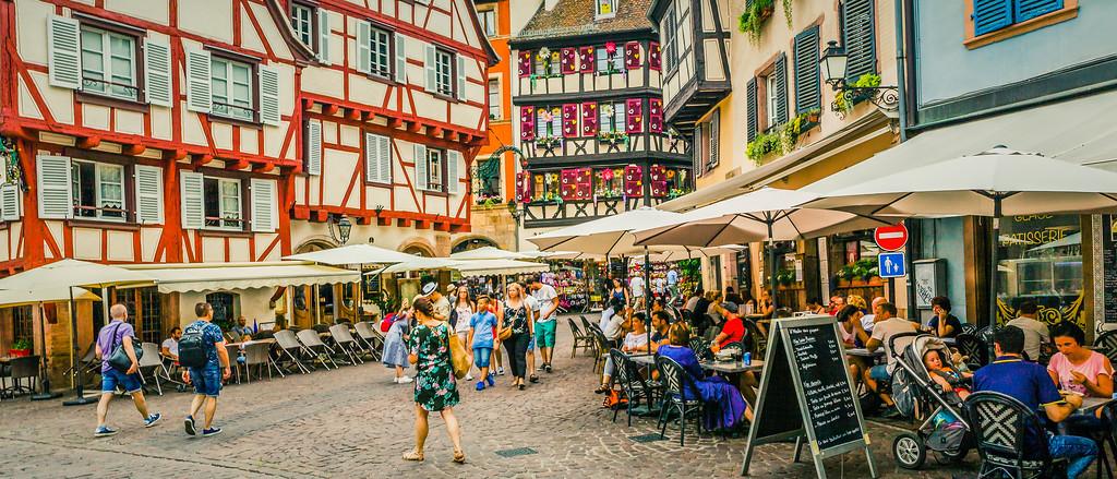 法国科尔马(Colmar),花园城市
