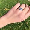 2.50ctw Emerald Cut Diamond 3-stone Ring, GIA E VS1 15