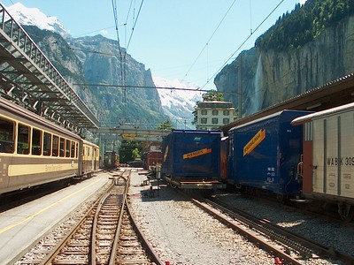 Trains of Germany and Switzerland, Unadbridged
