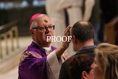 Ash Wednesday at the Cathedral 2020
