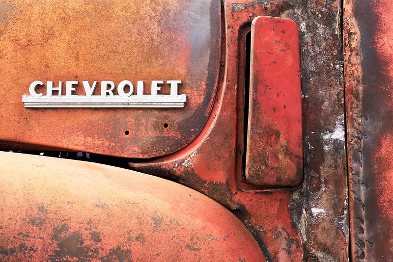 50s Chevrolet pickup logo