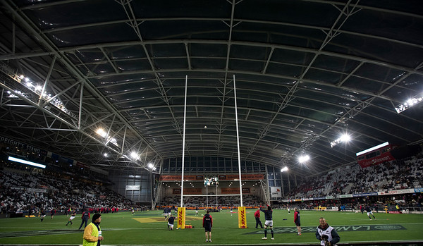 Forsyth Barr Stadium, Dunedin, during game 4 of the British and Irish Lions 2017 Tour of New Zealand,The match between  Highlanders and British and Irish Lions, Forsyth Barr Stadium, Dunedin, Tuesday 13th June 2017 (Photo by Kevin Booth Steve Haag Sports)  Images for social media must have consent from Steve Haag