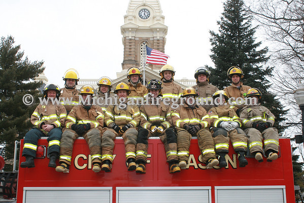 4/4/13 - Ingham County Fire Chief's Assoc Firefighter I & II Graduation