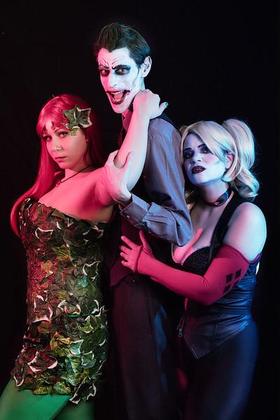 Joker/Harley/Ivy Photo Shoot 2/13/16