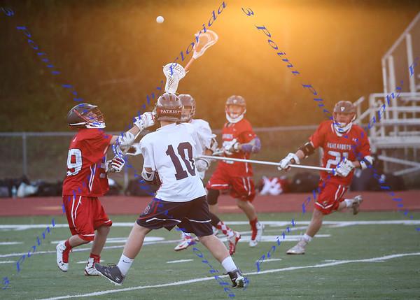 JV Boys  Lacrosse vs. Lake Highland
