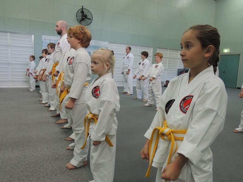 Combat Karate Noosa Grading