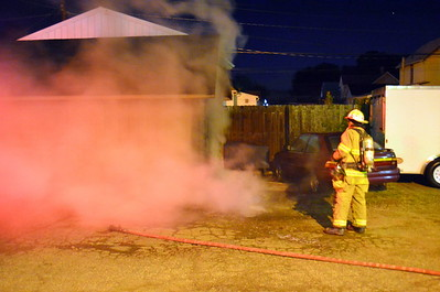 09-16-13 Coshocton FD Shed Fire