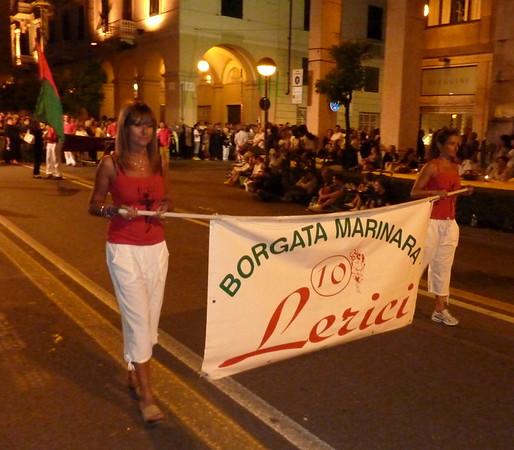 Foto sfilata borgate Palio del Golfo 2010 - Lerici