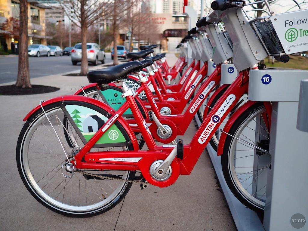 B-Cycle - Austin, Texas