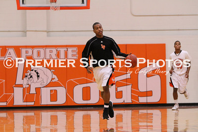 La Porte Boys Varsity Basketball vs Deer Park 1/7/2011