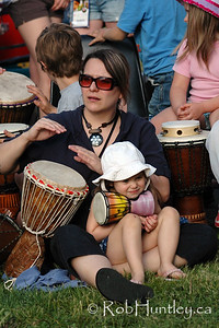 Westfest Tam Tam. Westfest is an annual event in the community of Westboro in Ottawa, Ontario.  © Rob Huntley
