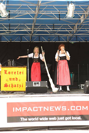 2010 Deutschen Pfest, Entertainment
