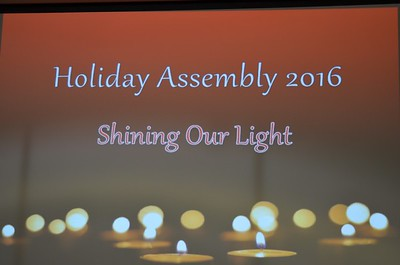 All-School Holiday Assembly