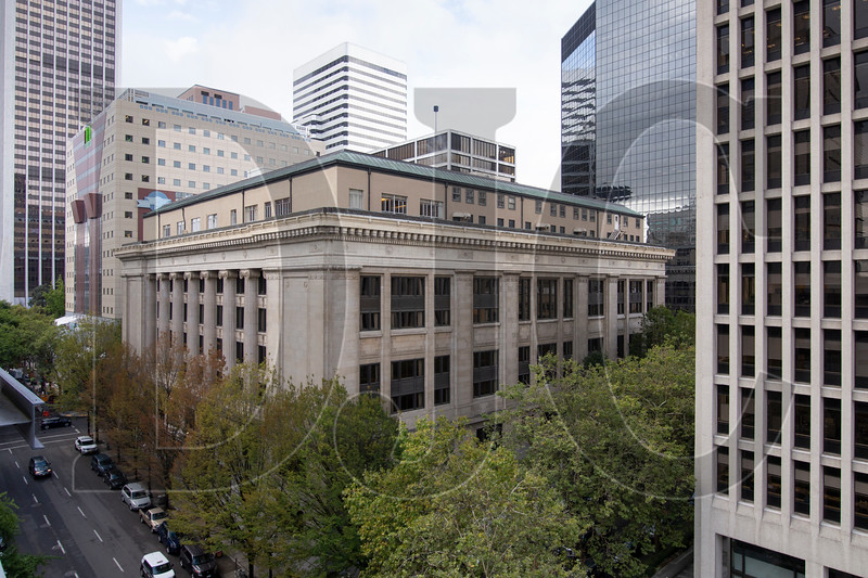 Plans for the renovation of the historic Multnomah County Courthouse include new openings in the penthouse, which formerly served as a jail.l (Sam Tenney/DJC)