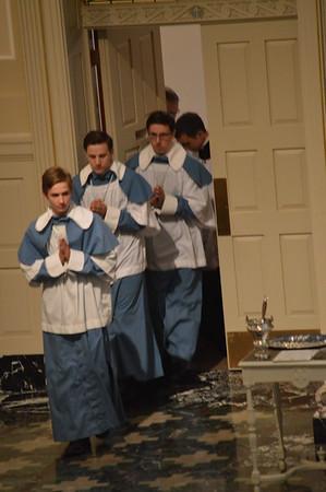 Receiving the Cross of St Francis de Sales 2015