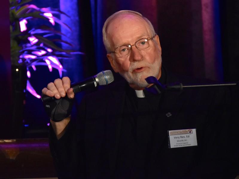 Fr. Ed Kilianski, US Provincial Superior, welcomes participants