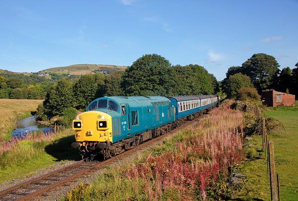 East Lancashire Railway Autmun Diesel Gala 27th September 2015