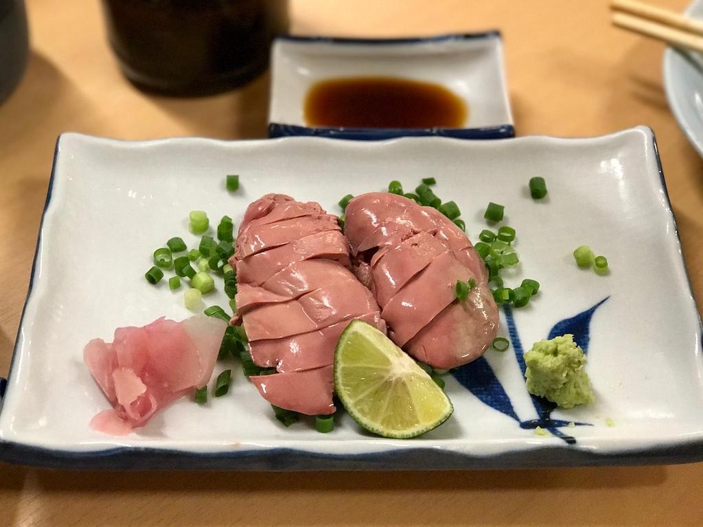 God, I love raw liver.