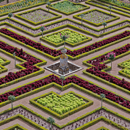 Chateau de Villandry - Jardins
