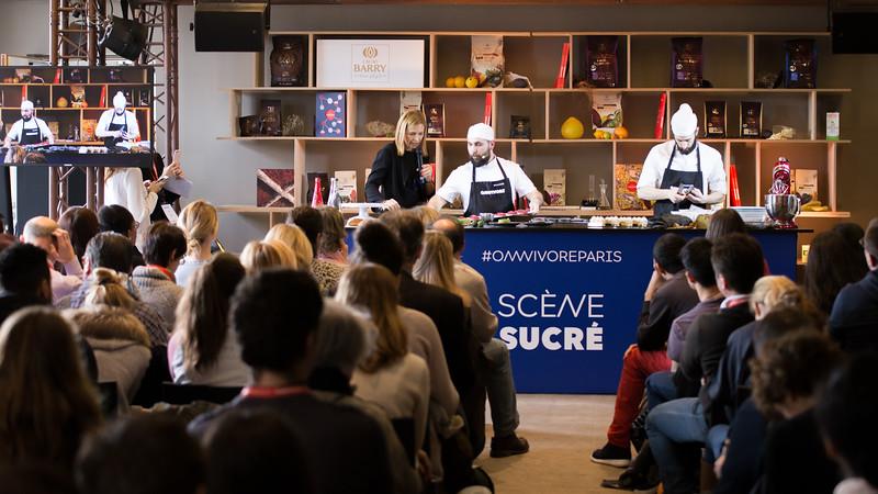 Erwan BLANCHE  et Sébastien BRUNO sur la scène sucré