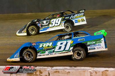 Atomic Speedway - Lucas Oil LM Dirt Series - 3/21/21 - Heath Lawson