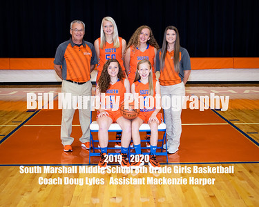 2019 - 2020 South Marshall Middle School Girls Basketball