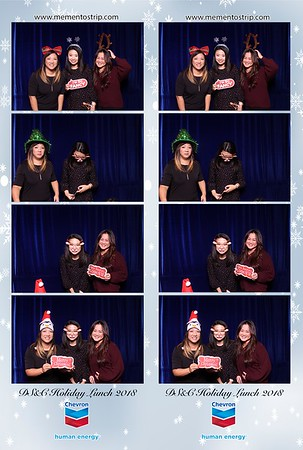 Chevron Holiday Lunch 2018