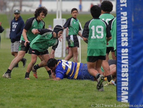 jm20120906 Rugby U15 - Wainui v St Bernards _MG_3180 b