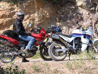 Jemez Mtns. - Battleship Rock Fishing & AT Ride  6-10-07