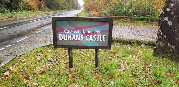 Dunans Castle - 27 October 2020