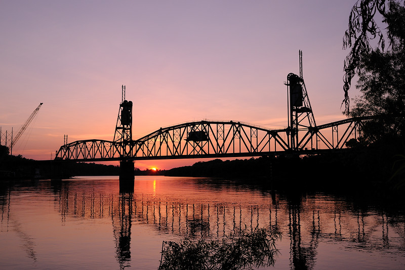What do you do on the first day of summer?  You can mow the grass, work on cars, water the flowers, or sit on the front porch swing and watch the lightning bugs . . . or you can grab your honey, head to Sonic for a slushie, and then down to the river to watch the sunset.  Perfection!