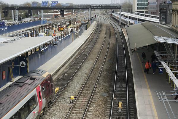 Reading Station April 2013