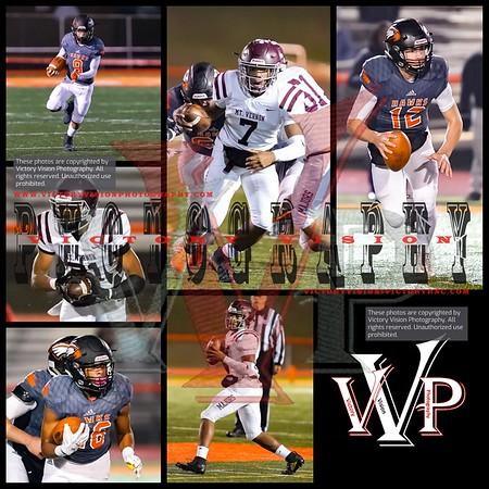 Mt. Vernon @ Hayfield Varsity Boys Football 11-09-18 | VHSL Regional Playoffs
