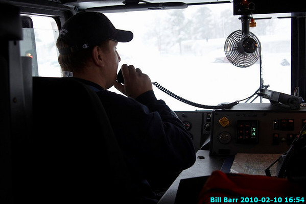Co Call during Snowstorm, Hazleton 2/10/10