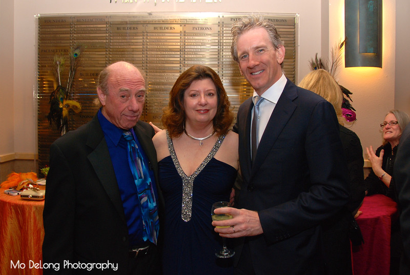 Ron and Jo Ann Stehle and Alasdair Neale
