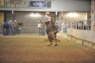 Old Timer Match Roping