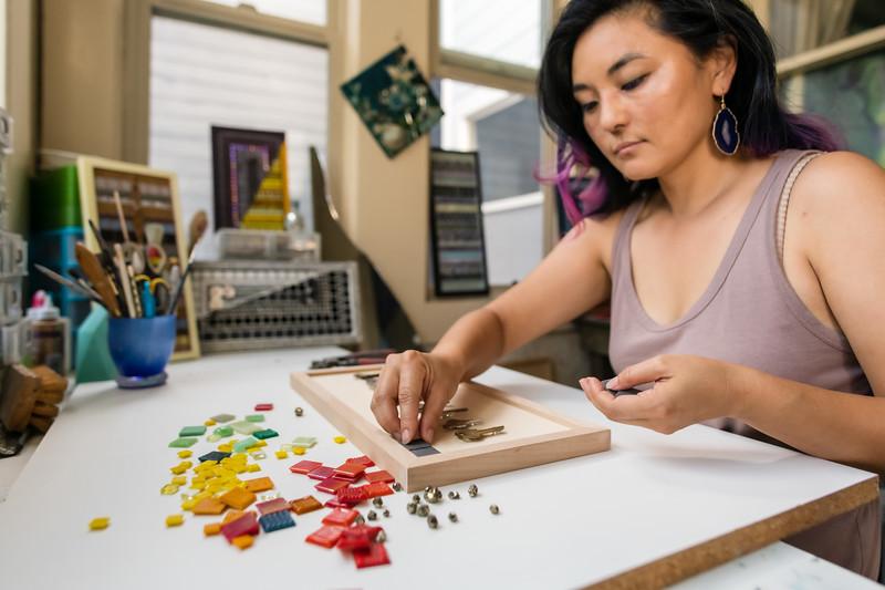 Kim Jensen Mosaics - August '20