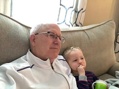 Visiting Baby Quinn Jan. 2019