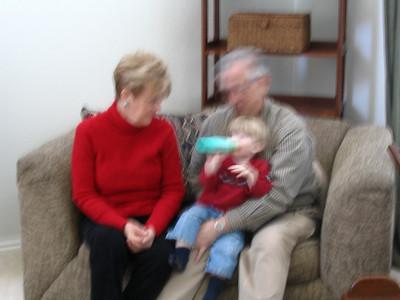 Nana and Papa January visit
